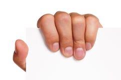 Mão do homem Foto de Stock