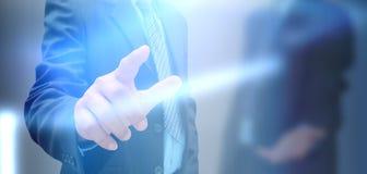 Mão do homem de negócios Foto de Stock