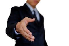 Mão do homem de negócios foto de stock royalty free