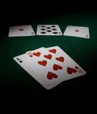 Mão do homem inoperante do póquer Imagem de Stock Royalty Free
