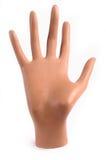 A mão do Mannequin isolou-se imagem de stock royalty free