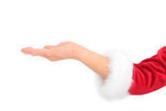 Mão do Natal imagens de stock