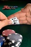 Mão do póquer Imagem de Stock