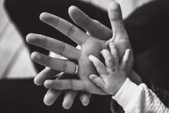 Mão do recém-casado Imagem de Stock Royalty Free