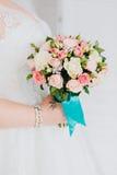 Mão do recém-casado Imagens de Stock Royalty Free