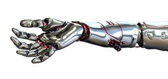 Mão do robô Fotos de Stock