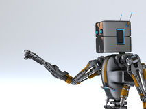Mão do robô deixada Foto de Stock Royalty Free