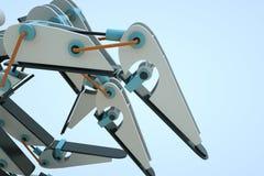mão do robô 3D no movimento Rendição 3D agradável Fotos de Stock Royalty Free