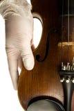 Mão do violino Imagens de Stock Royalty Free