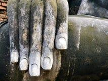 Mão dourada da Buda Imagem de Stock Royalty Free