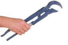 Mão e ferramenta Fotos de Stock