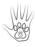 Mão e pé Imagem de Stock Royalty Free