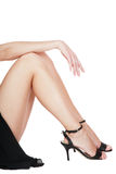 Mão e pés Fotografia de Stock Royalty Free