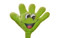 Mão engraçada Foto de Stock