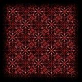 mão escura teste padrão geométrico tirado Imagens de Stock