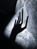 Mão estrangeira do horror Fotografia de Stock Royalty Free