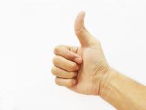 A mão faz o sinal magnífico Imagem de Stock Royalty Free