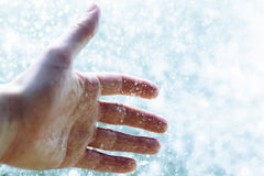 Mão fresca Imagem de Stock