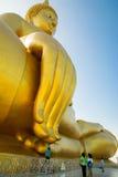 Mão grande buddha imagens de stock