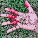 Mão humana imagens de stock