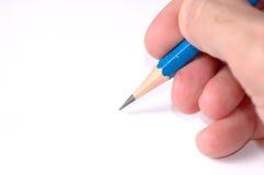 Mão humana com lápis Foto de Stock Royalty Free