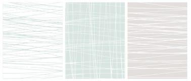 Mão irregular garranchos tirados em Gray Vetora Backgrounds branco, azul e claro ilustração royalty free