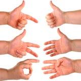 Mão isolada. Foto de Stock Royalty Free