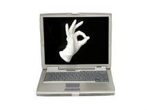 Mão mágica Imagem de Stock Royalty Free