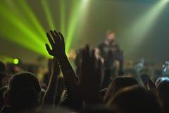 Mão mágica no concerto Foto de Stock