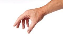 Mão masculina foto de stock royalty free