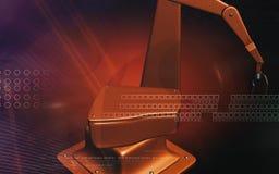 Mão mecânica de Robotâs Imagem de Stock Royalty Free