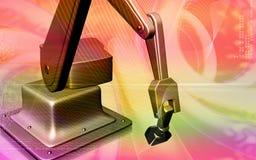 Mão mecânica de Robotâs Fotos de Stock Royalty Free