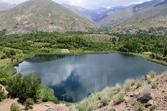 Mão na paisagem, natureza em Irã Fotos de Stock Royalty Free