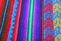 Mão peruana - textura feita Imagens de Stock Royalty Free