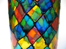 Mão pintada de vidro Imagens de Stock