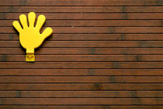 Mão plástica Imagens de Stock Royalty Free