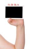 Mão que prende uma fotografia Foto de Stock