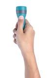 Mão usando a luz instantânea Imagens de Stock Royalty Free