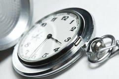 Mão velha - relógio feito Imagem de Stock