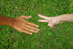 Mãos 1 Fotografia de Stock
