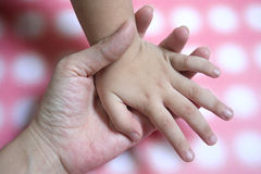 Mãos Fotos de Stock