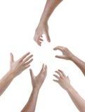Mãos Imagem de Stock