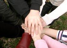 Mãos Fotografia de Stock