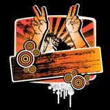 Mãos acima para o partido Imagens de Stock
