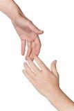 Mãos amiga Imagens de Stock
