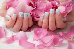Mãos bonitas Imagens de Stock Royalty Free