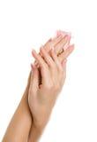 Mãos bonitas Fotos de Stock
