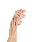 Mãos bonitas Fotos de Stock Royalty Free