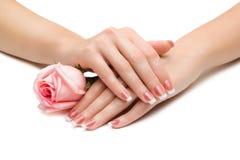 Mãos bonitas Fotografia de Stock Royalty Free