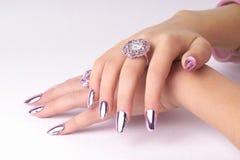 Mãos bonitas Foto de Stock Royalty Free